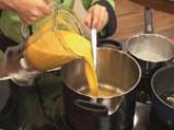 Крем супа от моркови с лук и кашу 7
