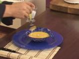 Крем супа от моркови с лук и кашу 9