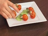 Пълнени чери домати с миди и пастет от маслини 9