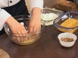 Хрупкави пилешки пурички с пъпеш и козе сирене 7