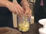 Гъши дроб с манатарки и радичо със сорбе от манго 2