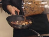Гъши дроб с манатарки и радичо със сорбе от манго 8