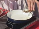 Забулени яйца с прясно мляко по капански