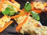 Зеленчуково плато с топено сирене на ...