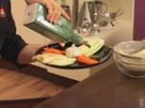 Зеленчуково плато с топено сирене на микровълнова фурна 5