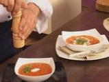 Доматена супа с брускети 10