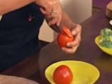 Пълнени домати с броколи и извара 2