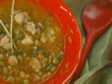 Супа от леща с карначе