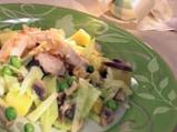 Пиле с джинджифил и зеленчуци