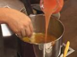 Терин от грейпфрут със сос от чай \
