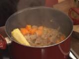 Телешка яхния с царевица и тиква 7