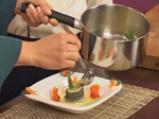 Руладини от лаврак с аспержи в шафранов бульон 10