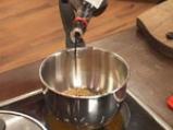 Супа от тиквички със соеви кълнове