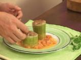 Яхния от пълнени тиквички 10
