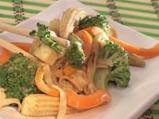 Нудълс с тофу и зеленчуци