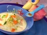 Млечна супа със зеленчуци и малко маг...