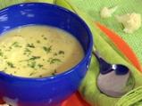 Бърза супа от карфиол