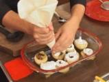 Пълнени круши със сушени плодове и белтъчна коричка 6
