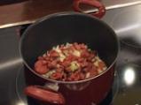 Супа от кестени с шпеков салам и крема сирене 4