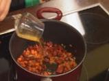 Супа от кестени с шпеков салам и крема сирене 5