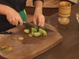 Свинско шиш кебап със сос от зелени домати 4