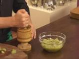 Свинско шиш кебап със сос от зелени домати 6