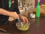 Свинско шиш кебап със сос от зелени домати 7