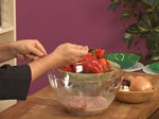 Свинско шиш кебап със сос от зелени домати 8