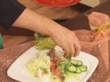 Зеленчукова салата с фенел и пушена риба 5