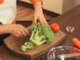 Ньоки с наденица и броколи 7