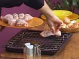Пилешки кълки и лозови сармички с къри 2