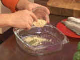 Пъстърва с броколи и спанак 2
