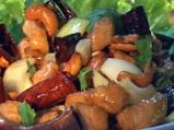Пиле с кашу по тайландски