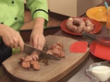 Бабина чорбица с наденица 2