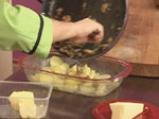 Картофен огретен с гъби и праз лук 8
