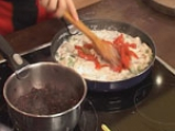 Пиле с оризово дуо и зеленчуци 6