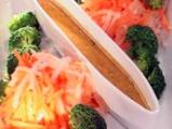 Салата с ряпа, броколи и моркови