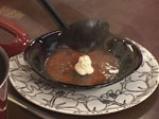 Крем супа от домати с мус от сирене 8