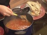 Пилешка супа със спанак и картофи 8