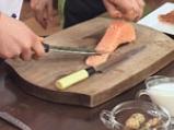 Тартар от сьомга с мус от горчица 3