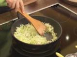 Картофи с праз и сирене