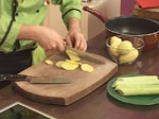 Картофи с праз и сирене 2