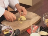 Огретен с картофи и спанак