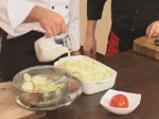 Огретен с картофи и спанак 7