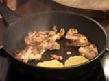 Гарнитура от картофени кейкчета с месо и зеленчуци 9