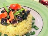 Патладжани със спанак и ориз
