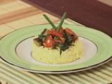 Патладжани със спанак и ориз 7