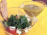 Редена салата със спанак
