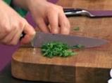 Зелена салата с мариновани калмари 3