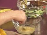 Салата от аспержи с краставици и пресен лук 7